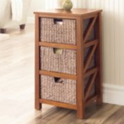 SONOMA Goods for Life™ 3-Drawer Cameron Storage Tower