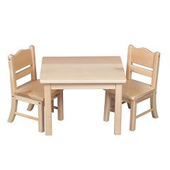 Guidecraft Doll Table & Chair Set