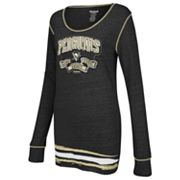 Reebok Pittsburgh Penguins Striped Tee - Women