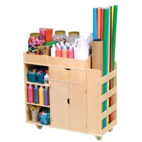 Guidecraft Art Activity Cart