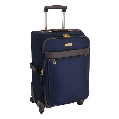 Towne by London Fog Luggage, 21-in. Expandable Spinner Carry-On