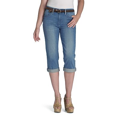 Levi's Cuffed Denim Capris