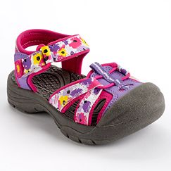 Jumping Beans Floral Sport Sandals - Toddler Girls