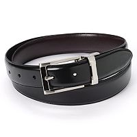 Croft & Barrow® Reversible Padded Faux-Leather Belt