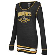 Reebok Boston Bruins Striped Tee - Women