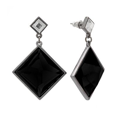 Apt. 9 Jet Drop Earrings