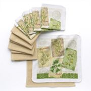 The Big One 10-pc. Herb Dishcloth Set