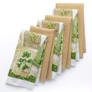 The Big One 6-pc. Herb Kitchen Towel Set