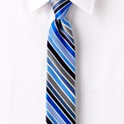 Van Heusen Satin Striped Skinny Tie