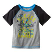 Jumping Beans Power Kicker Raglan Tee - Toddler