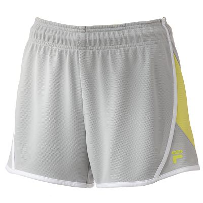 FILA SPORT Colorblock Mesh Performance Shorts