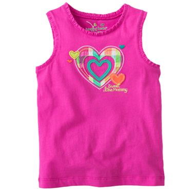 Jumping Beans Heart Tank - Toddler