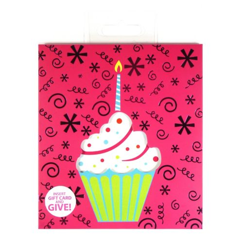 Gift Card Impressions Cupcake Gift Card Holder