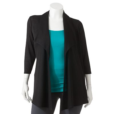 Wrapper Cardigan - Juniors' Plus