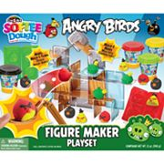 Angry Birds Softee Dough Figure Maker Playset by Cra-Z-Art
