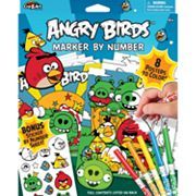 Angry Birds Marker by Number by Cra-Z-Art