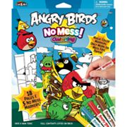 Angry Birds No-Mess Coloring Set by Cra-Z-Art