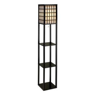 Adesso Middleton Shelf Floor Lamp