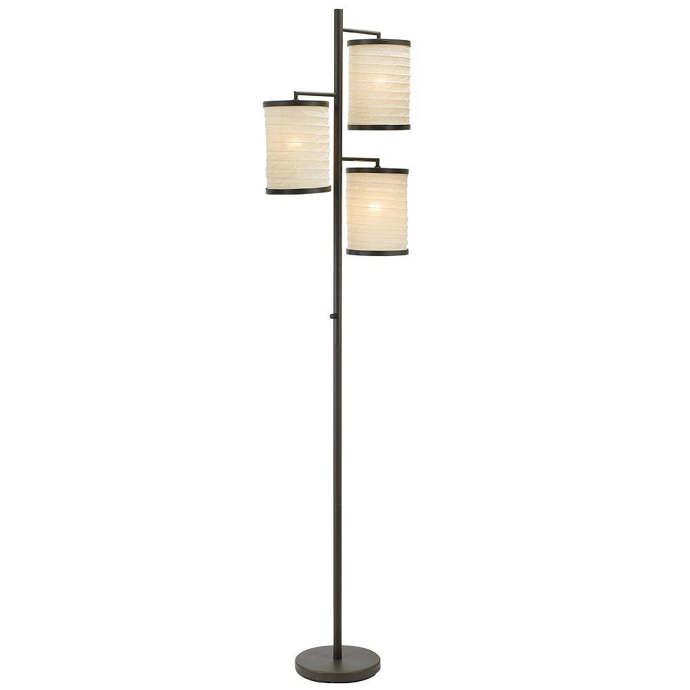 Adesso Bellows Tree Floor Lamp