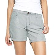 Levi's Striped Cuffed Shorts