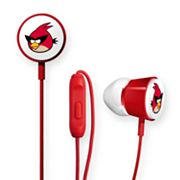GEAR4 Angry Birds Red Bird Space Deluxe Tweeters Earbud Headphones