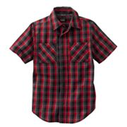 Tony Hawk Gingham Button-Down Shirt - Boys 8-20