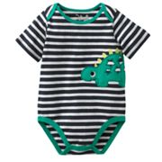 Jumping Beans Dinosaur Striped Bodysuit - Baby