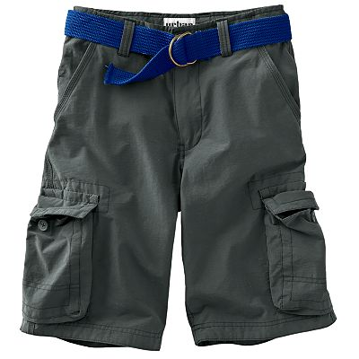 Urban Pipeline® Belted Colored Cargo Shorts - Boys 8-20