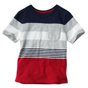 SONOMA life + style Striped Pocket Tee - Boys 4-7x