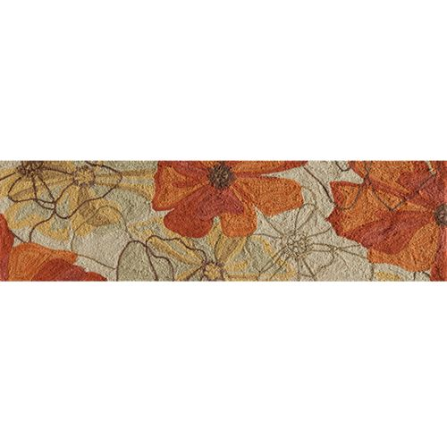 Momeni Summit Floral Outlines Rug Runner - 2'3'' x 7'6''