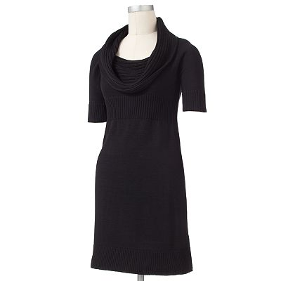 Apt. 9 Empire Cowlneck Sweaterdress - Petite