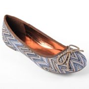Journee Collection Shell Ballet Flats - Women