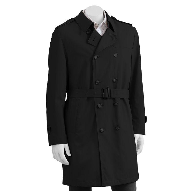 Chaps Kaplan Overcoat - Men