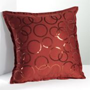 Simply Vera Vera Wang Interlocked Sequin Decorative Pillow