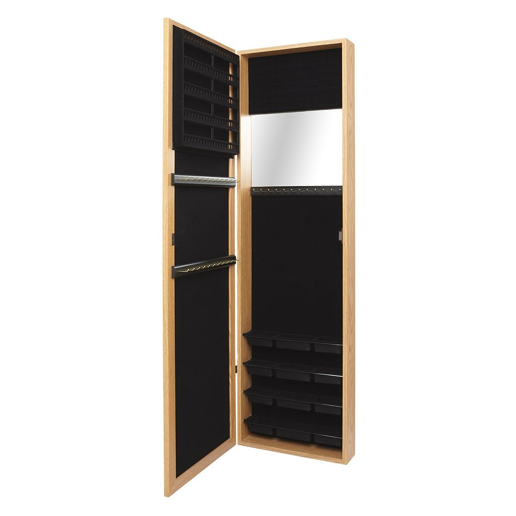 Mirrotek Over-The-Door Jewelry Armoire