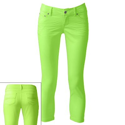 SO Color Skinny Ankle Jeans - Juniors