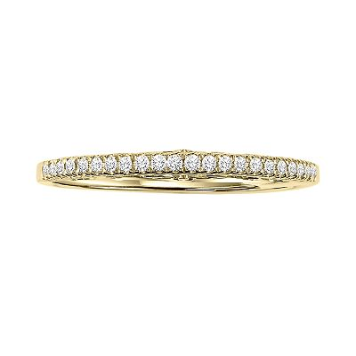 Simply Vera Vera Wang 14k Gold 1/10-ct. T.W. Diamond Band Ring
