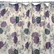 Waverly Cheri Fabric Shower Curtain