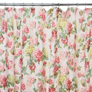 Waverly Traditions Rolling Meadow Fabric Shower Curtain