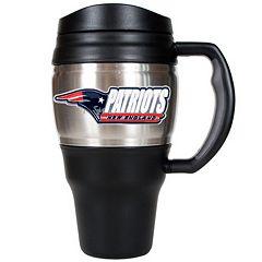 New England Patriots Travel Mug