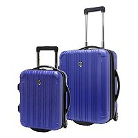 Traveler's Choice New Luxembourg 2-Piece Hardside Wheeled Carry-On Luggage Set