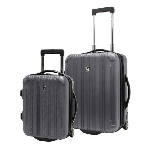 Traveler's Choice Luggage, New Luxembourg 2-pc. Expandable Hardside Wheeled Carry-On Luggage Set