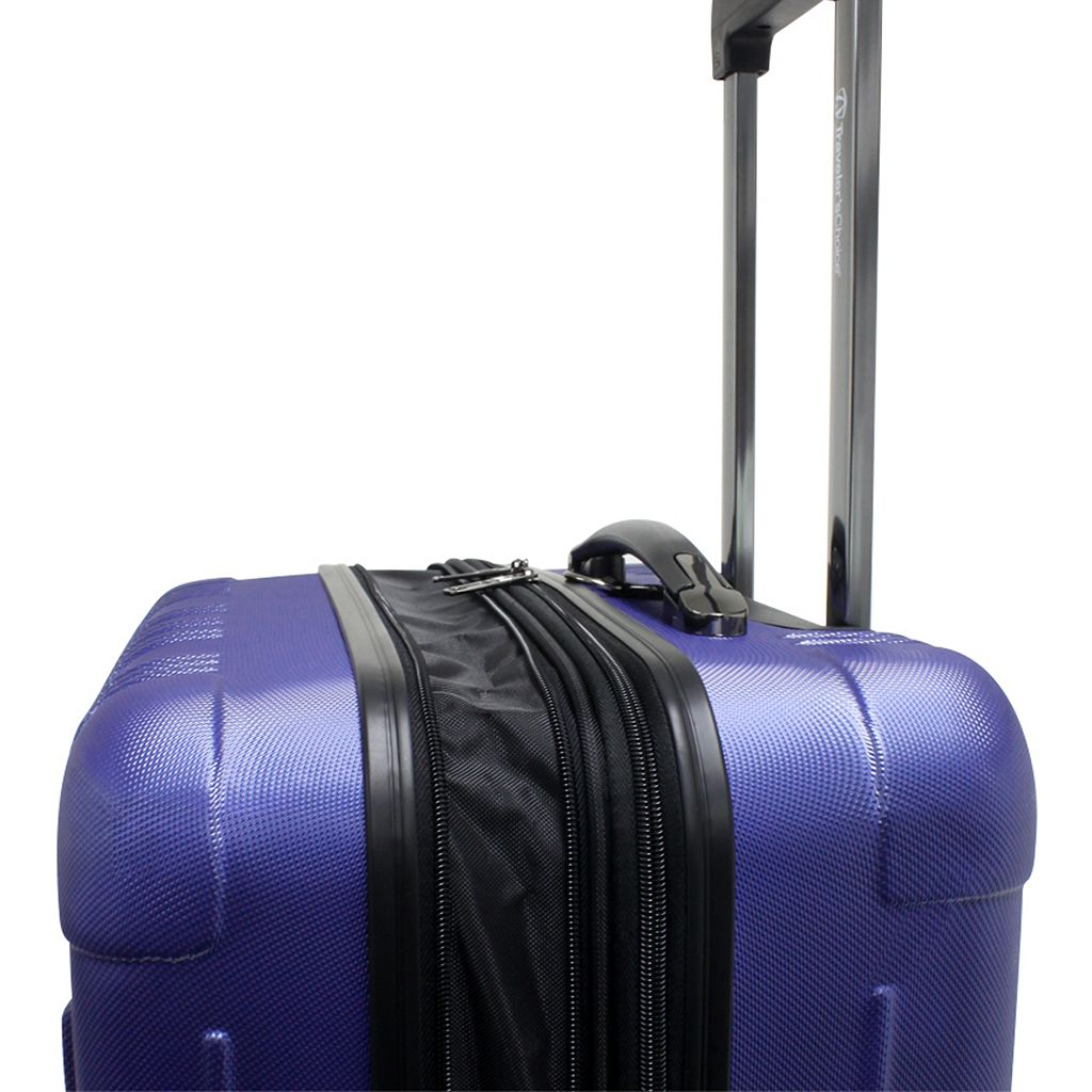Traveler's Choice 2-Piece New Luxembourg Hardside Spinner Luggage Luggage Set