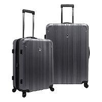 Traveler's Choice 2-Piece New Luxembourg Hardside Spinner Luggage Luggage Set