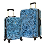 Traveler's Choice Luggage, Tribal 2-pc. Expandable Hardside Spinner Luggage Set