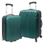 Traveler's Choice Lightweight 2 pc Hardside Luggage Set