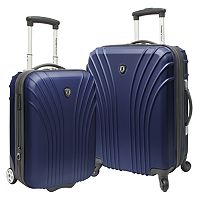 Traveler's Choice Lightweight 2-Piece Hardside Luggage Set