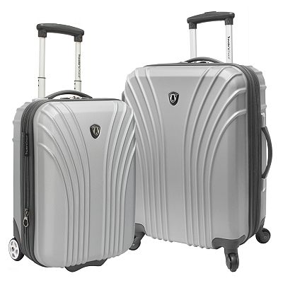 Traveler's Choice Luggage, Lightweight 2-pc. Expandable Hardside Luggage Set