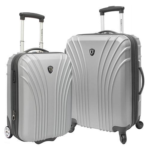 Traveler's Choice Lightweight 2-Piece Hardside Luggage Set