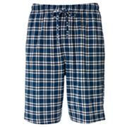 Croft and Barrow Plaid Lounge Shorts